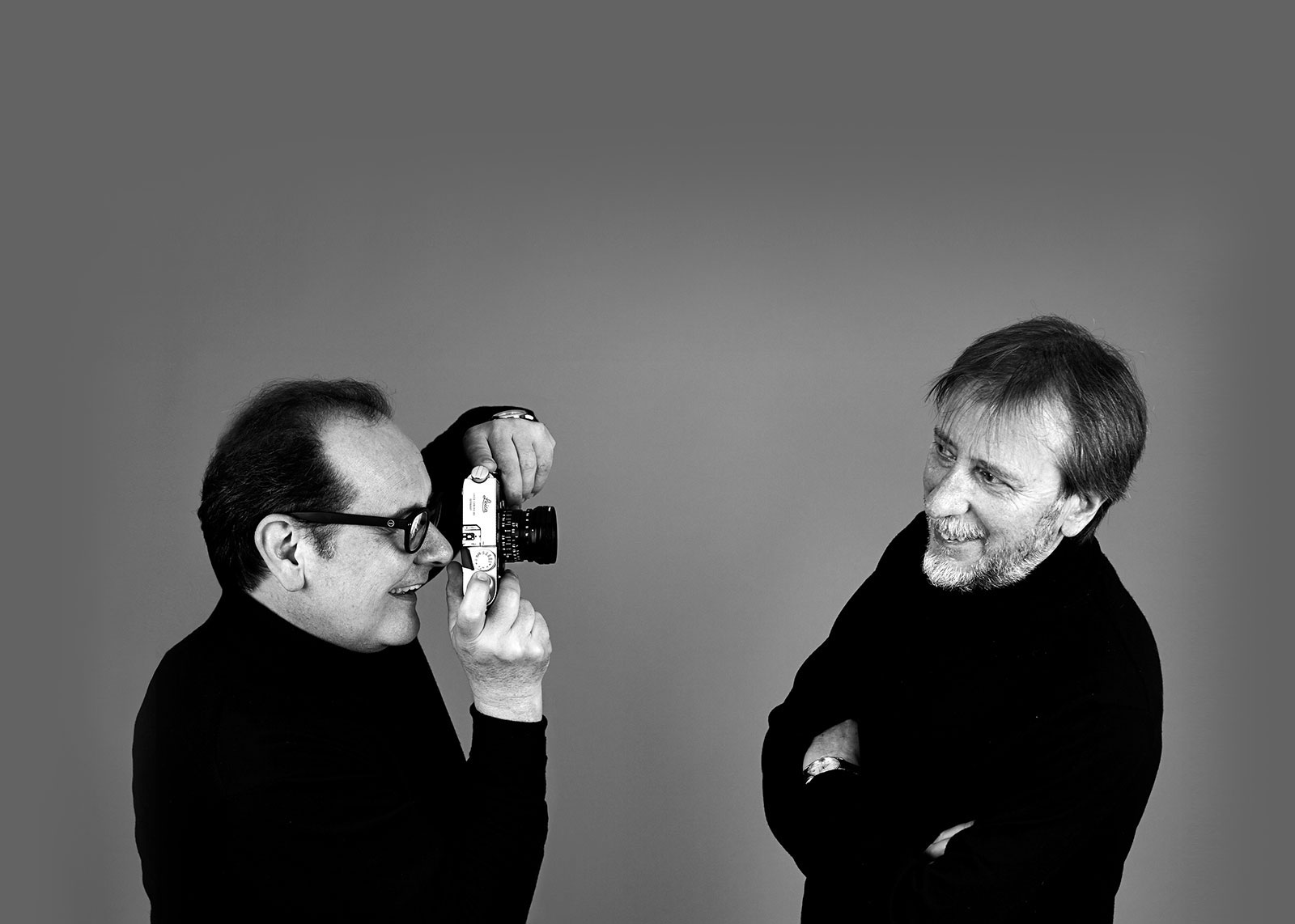 Alberto Bovo and Sandro Manente - Founders of Hangar Design Group