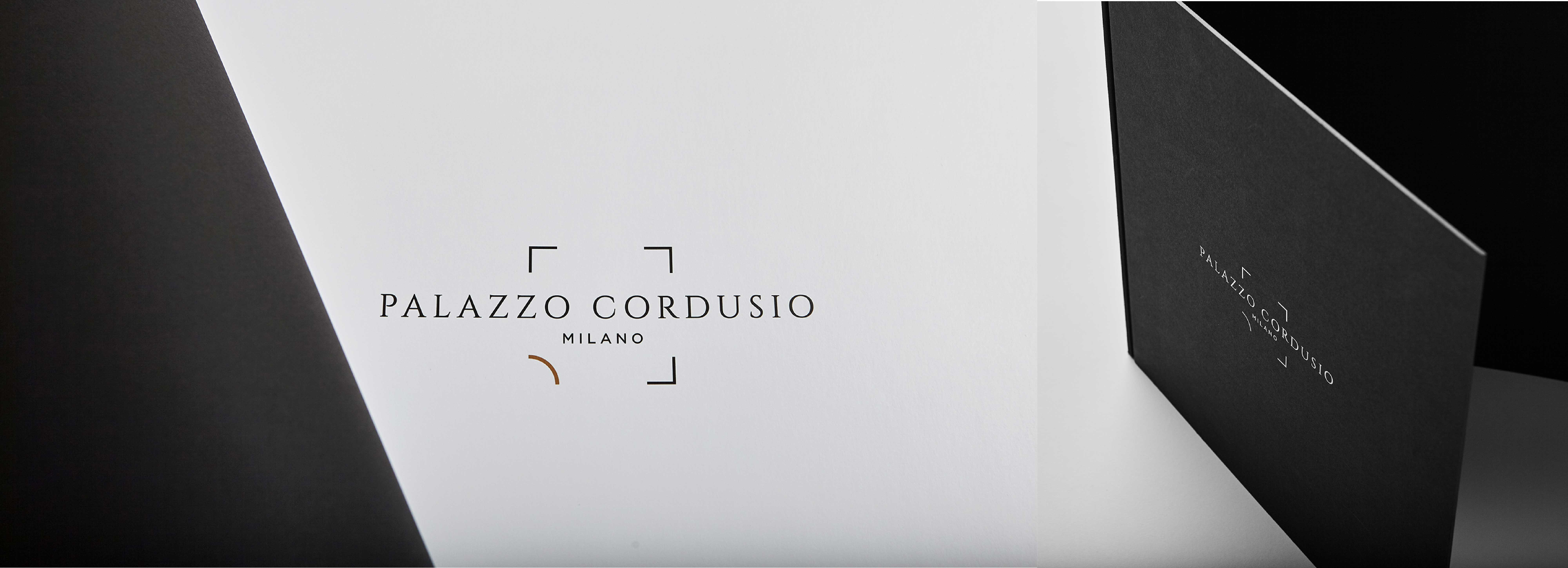 The brand identity of Palazzo Cordusio designed by Hangar Design Group