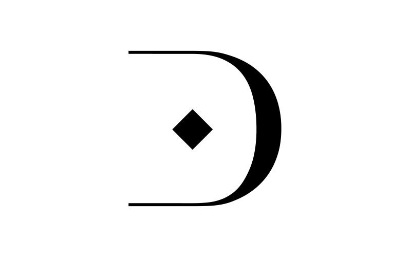Damiani - Logo design for luxury brand.