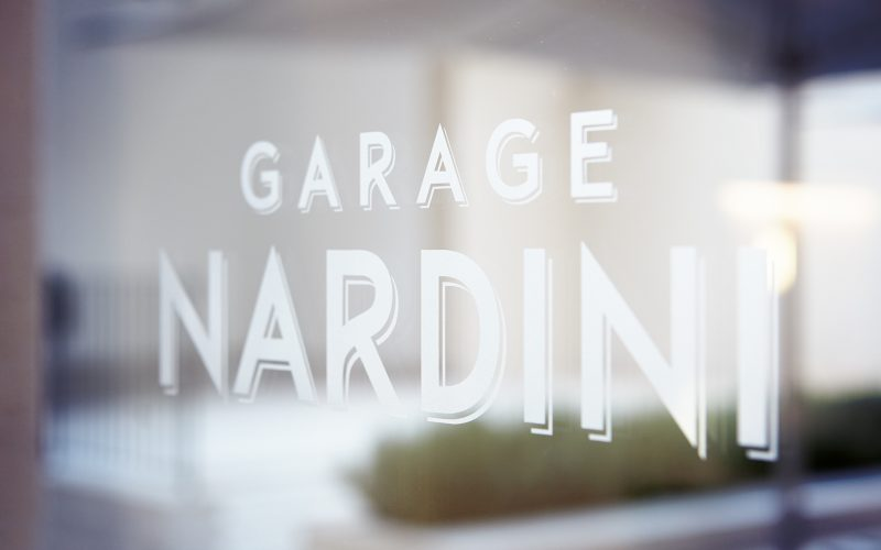 Hangar Design Group signs the interior design project for Garage Nardini