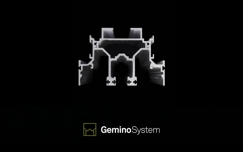 Gemino System - A new visual identity for a fully integrated modular system