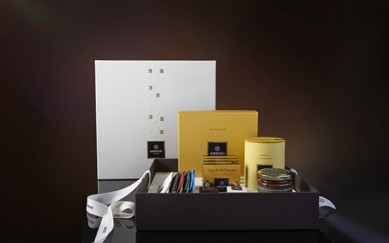 Amedei published a collection of small joys in an elegant packaging designed by Hangar Design Group