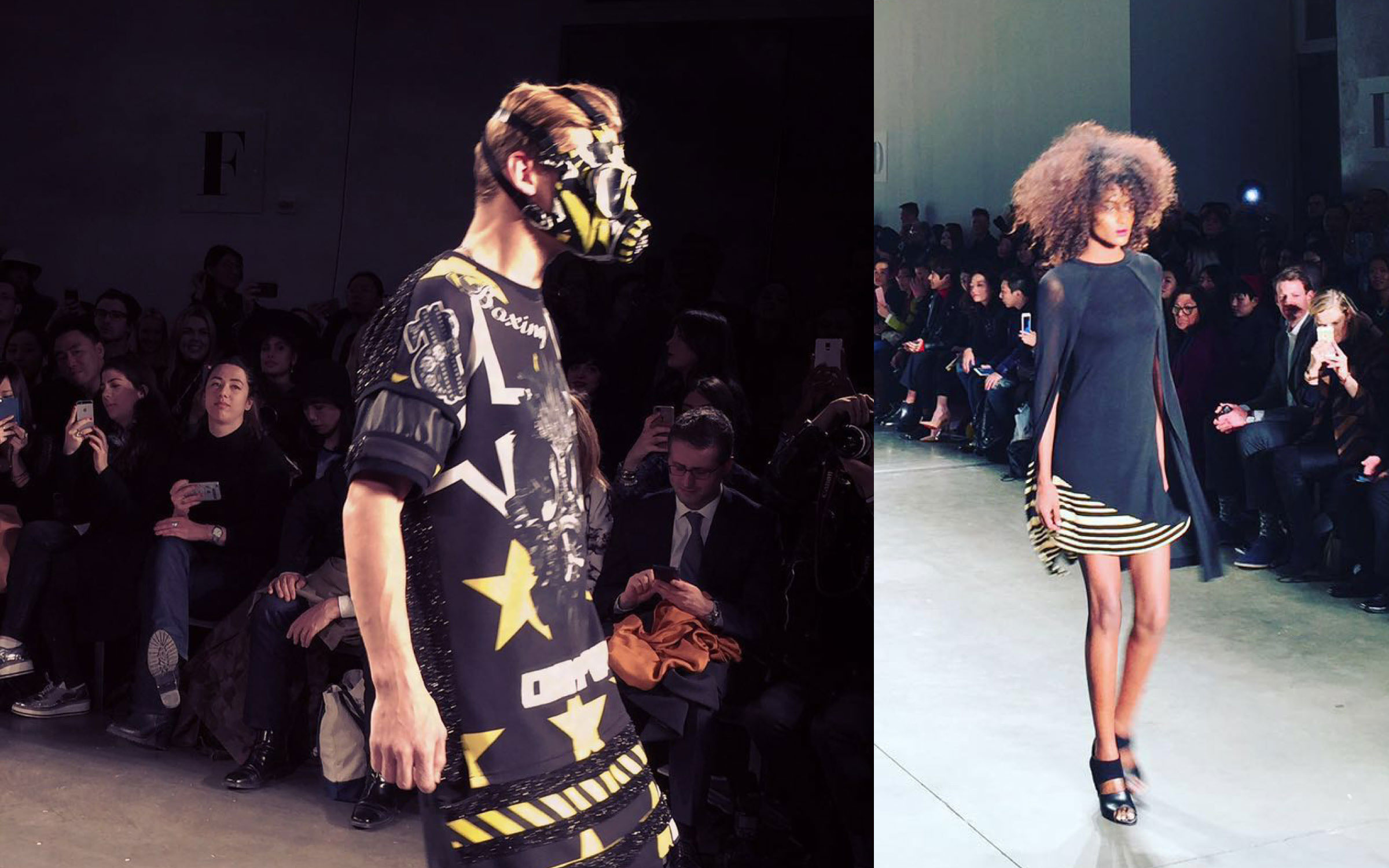 From China to NY with cutting edge fashion designers