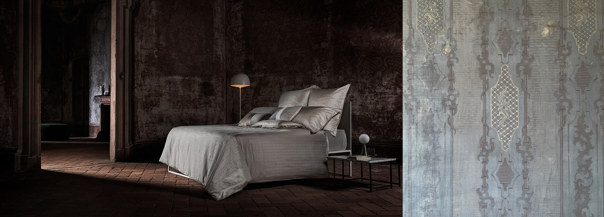 La Perla - La Perla Home Collection shine among frescoes and precious fabrics