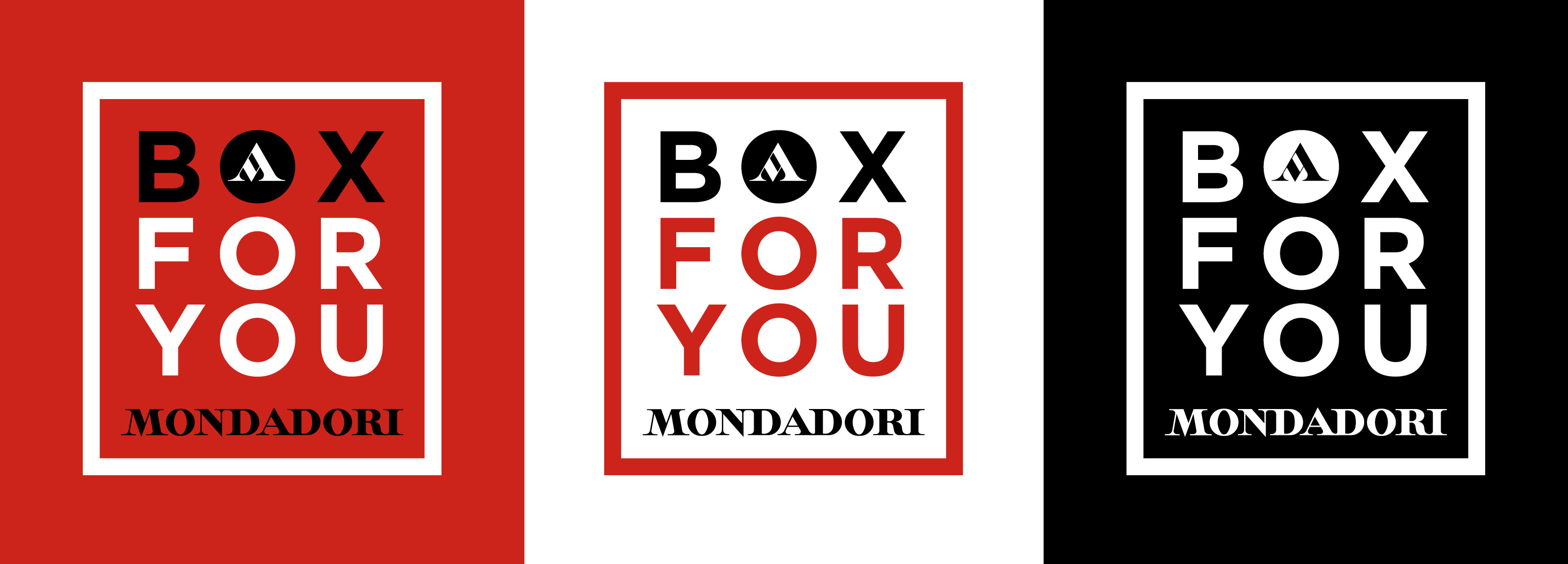 Hangar Design Group created a logo for the Mondadori Group