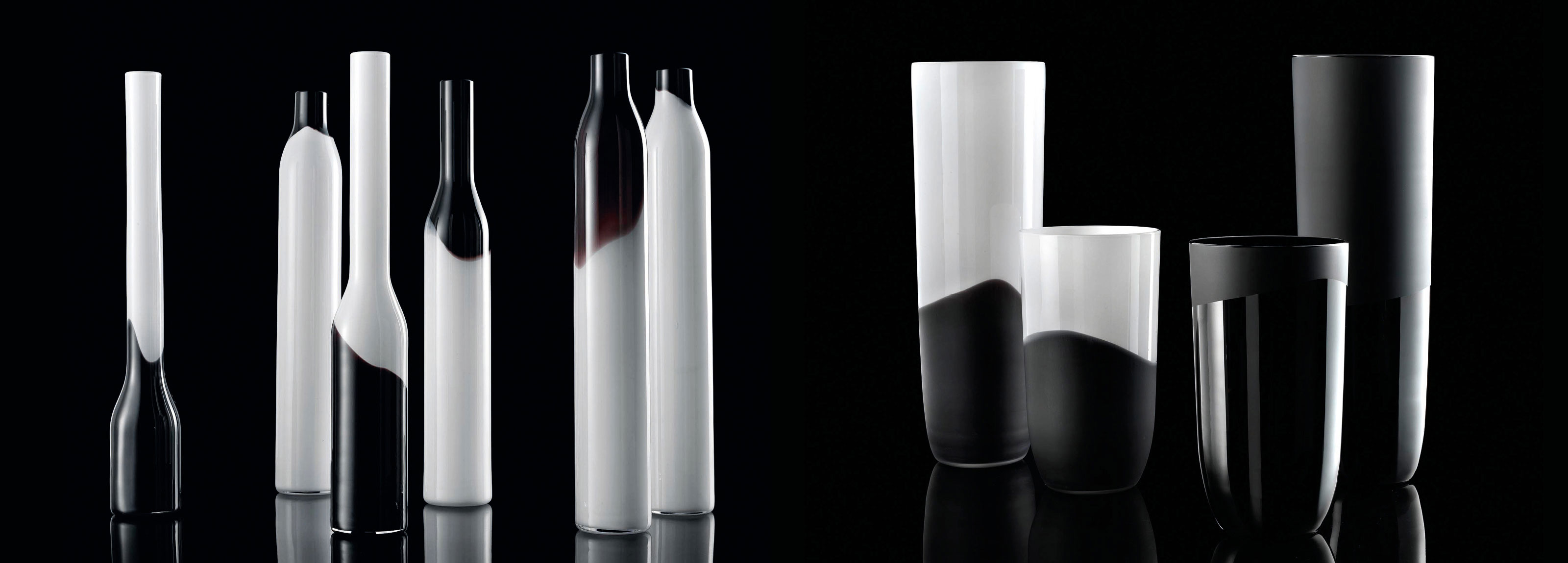 A creative concept by Hangar Design Group for a NasonMoretti's vase collection.