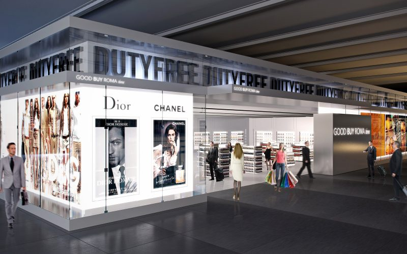 Adr - A duty free project inside the main Italian airport hub.