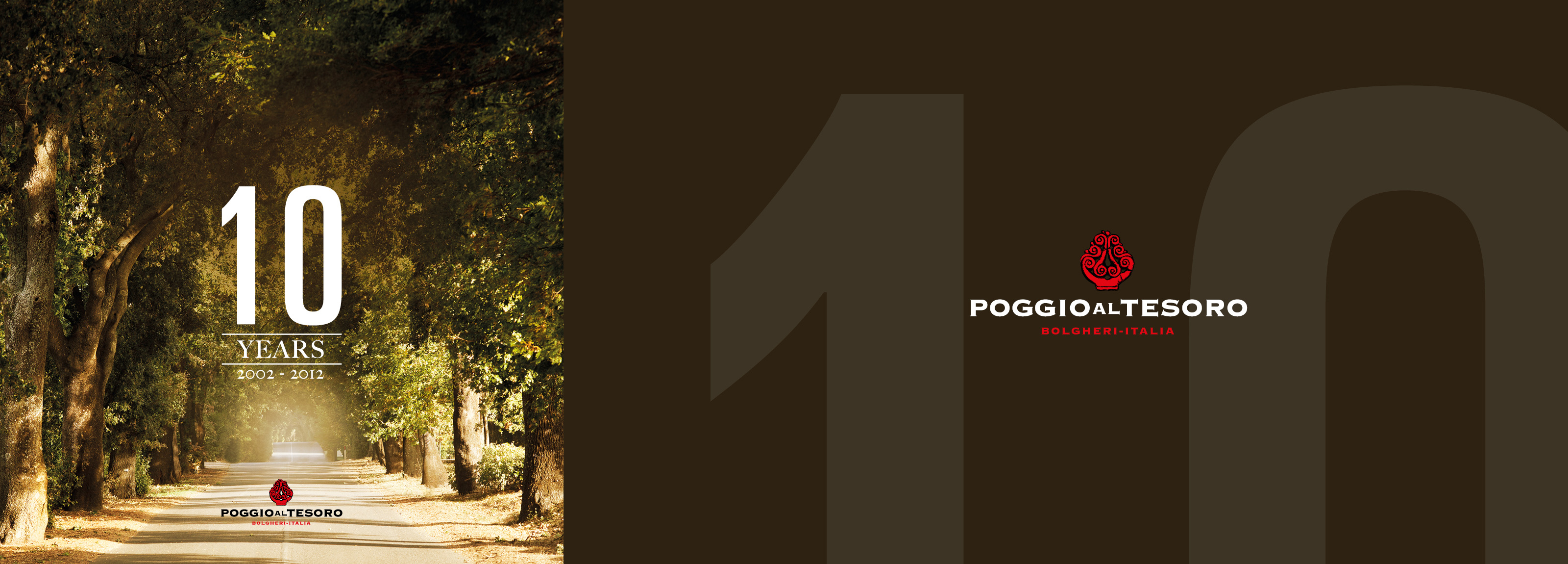 Hangar Design Group signs the 10-years anniversary campaign for Poggio al Tesoro