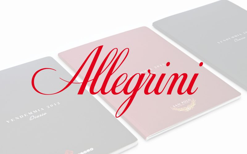 Allegrini - Graphic design for the Allegrini Harvest Diaries.