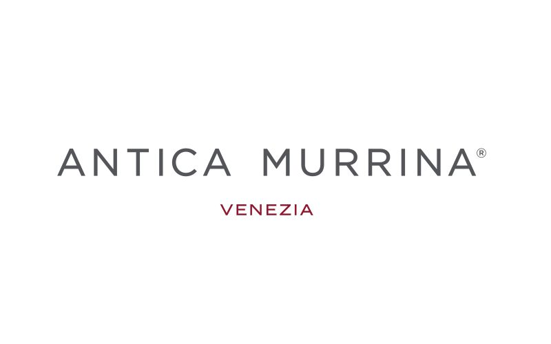 Antica Murrina - A new logo for the company leader in the production of glass jewelry.