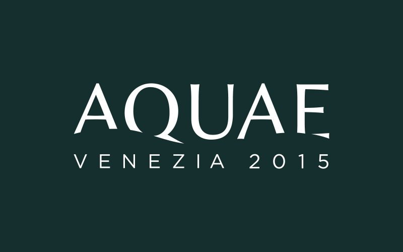 Aquae - Brand identity and visual design for Aquae 2015.