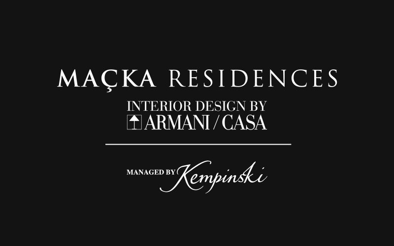 Maçka - A new website for a luxurious residental complex in Istanbul.