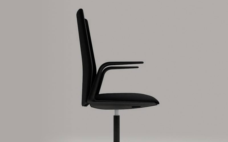Arper - A visual presentation of the company's first office chair.