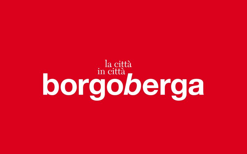 Borgo Berga - Corporate identity for a real estate project developed in Vicenza.