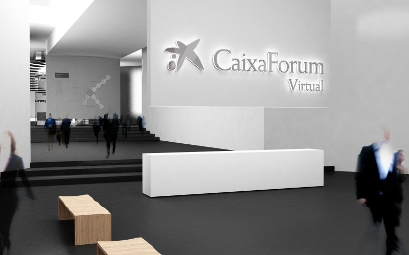 Caixa Forum - Project for a virtual museum of the spanish bank.
