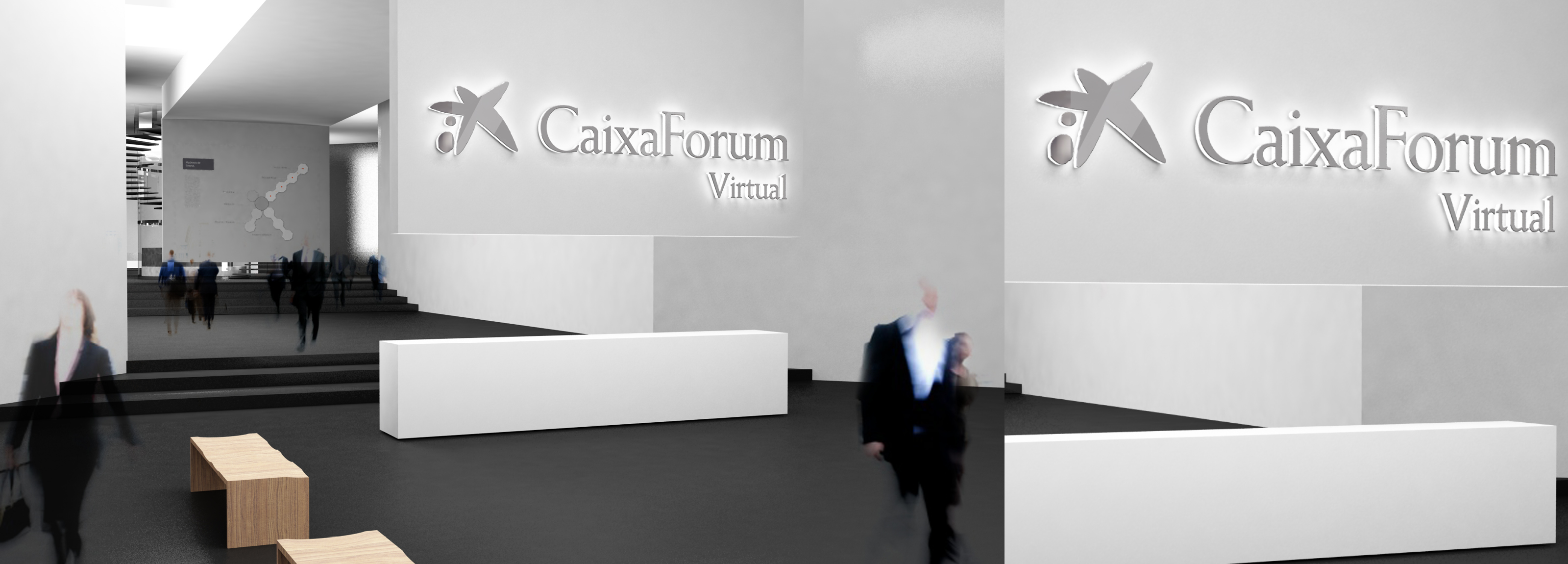 Project realized by Hangar Design Group for a virtual museum of the spanish bank  group Caixa Forum
