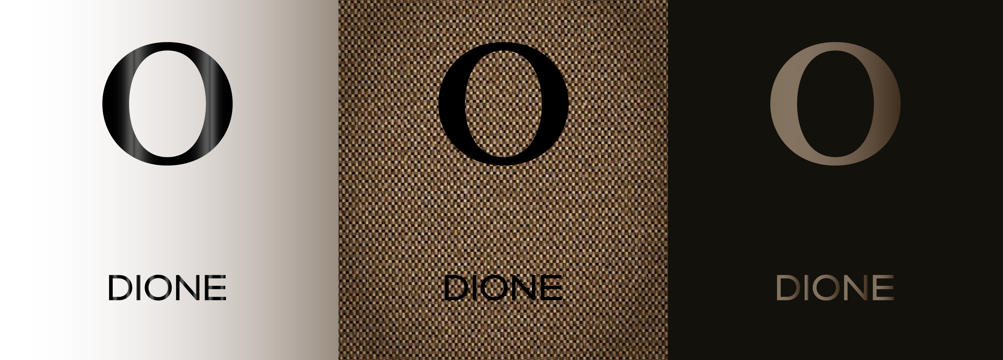 Hangar Design Group designed the brand identity for Dione