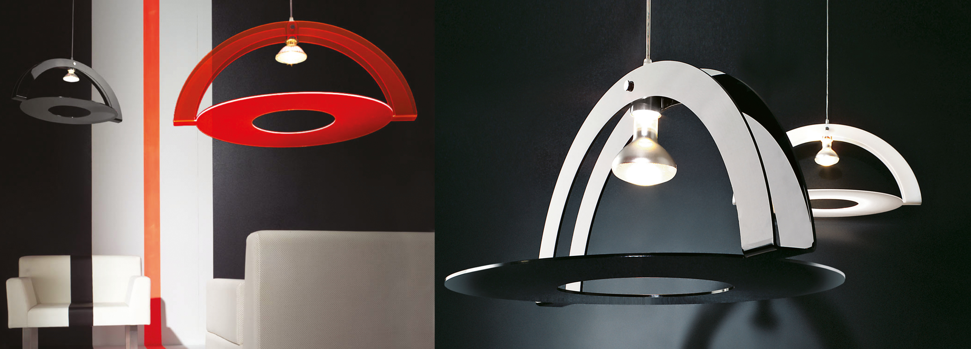 Product design signed by Hangar Design Group for the Italian lighting company.