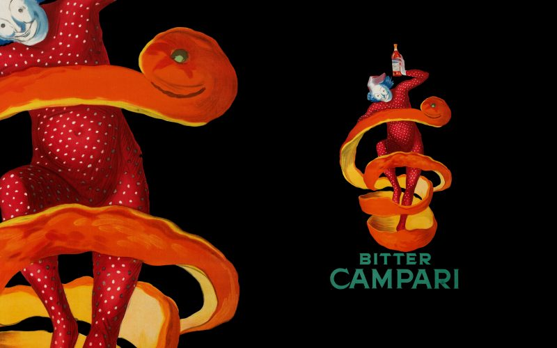 Campari - Gifts and gadgets inspired to the historical designs of the brand's posters of early twentieth century.
