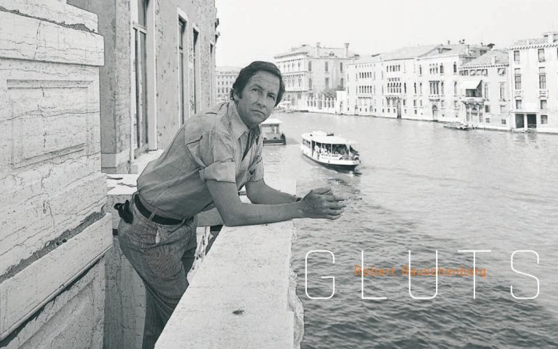 Peggy Guggenheim Collection - Coordinated image for exhibition dedicated to Robert Rauschenberg.