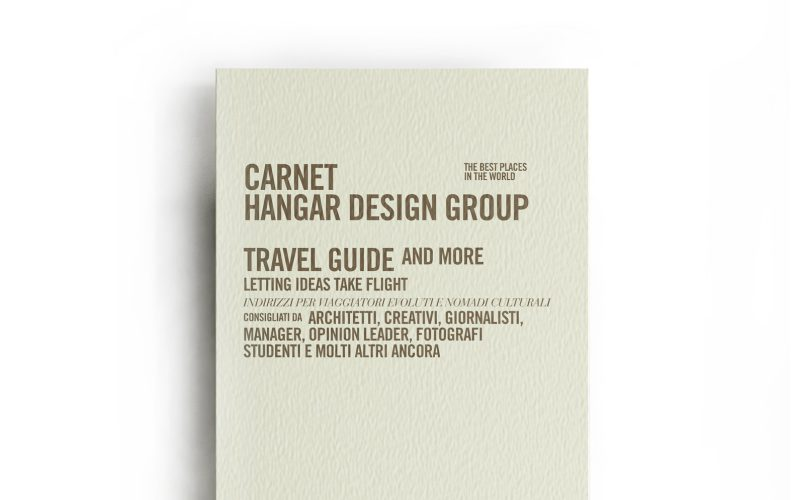 Inspired notebooks designed of Hangar Design Group dedicated to travelers.