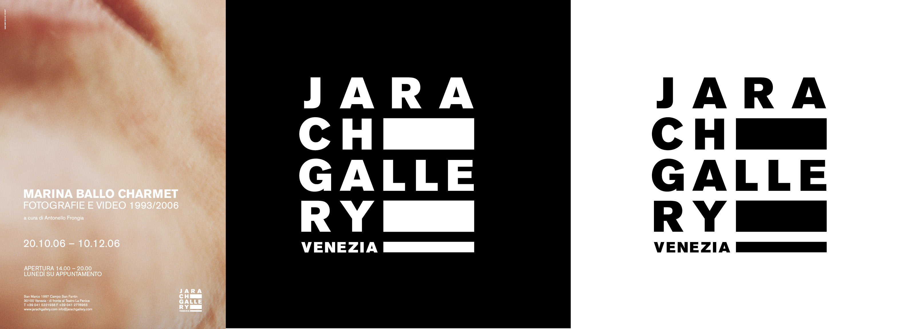 Hangar Design Group creation of a new logo for the venetian gallery.