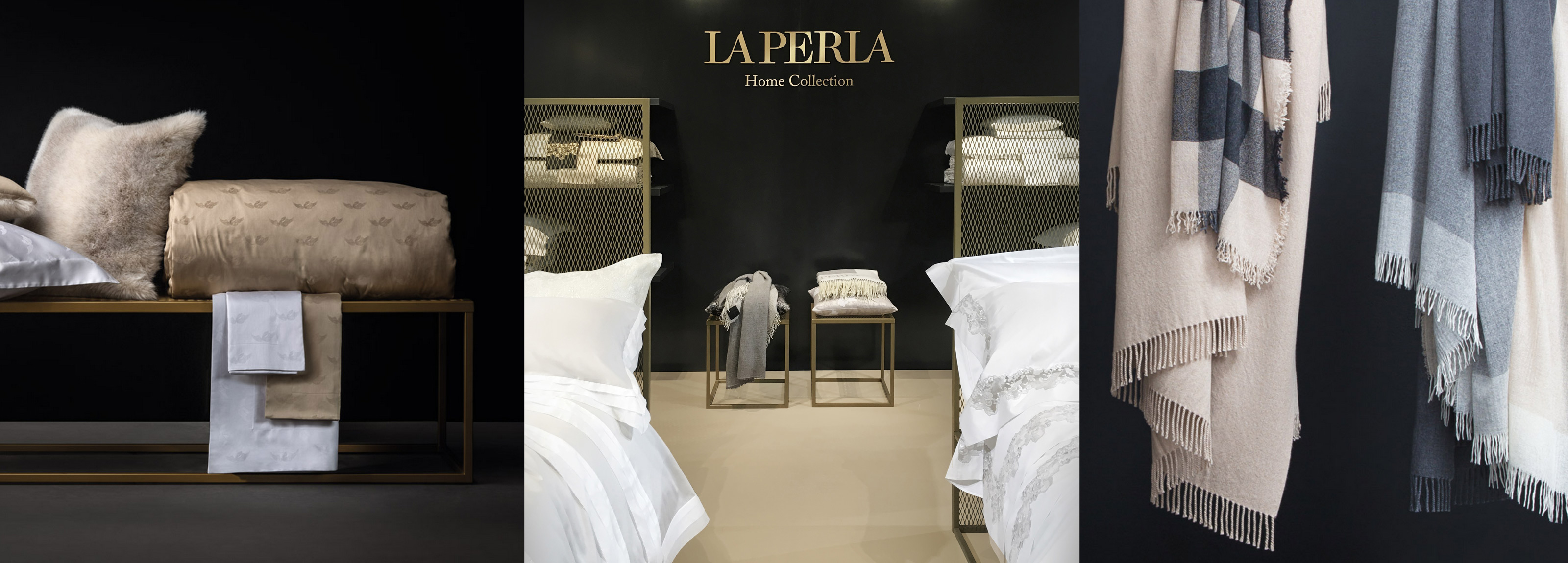 Hangar Design Group designed the interiors and the visual identity of La Perla