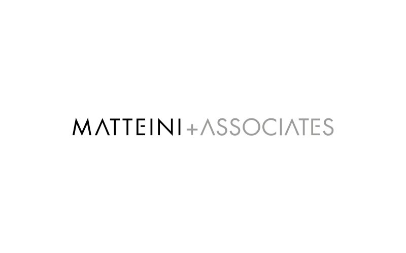 Matteini+Associates - A graphic project for an architectural practice.