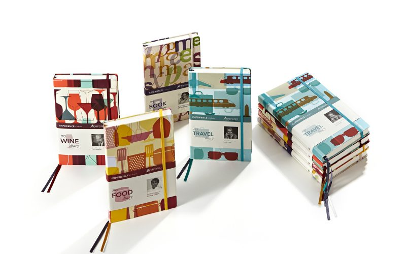 Mondadori - Development of the graphic design of a new line of notebooks.