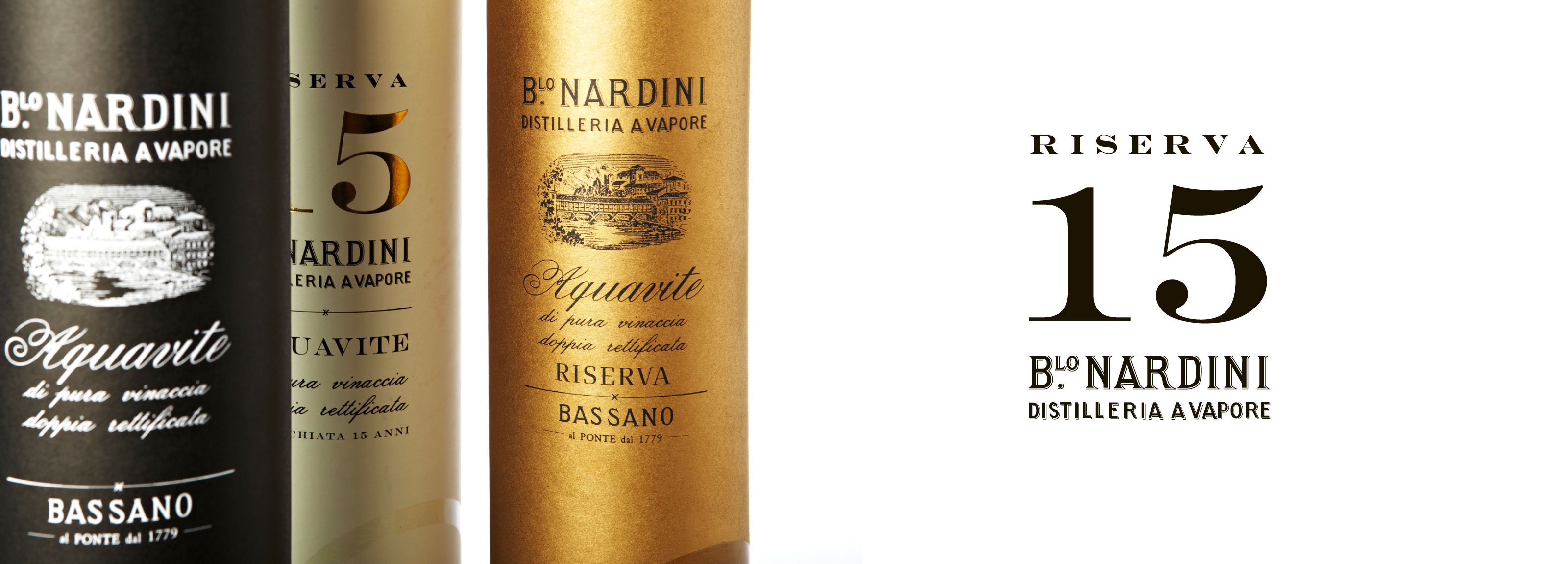 Hangar Design Group signed the new gift boxes for Distilleria Nardini