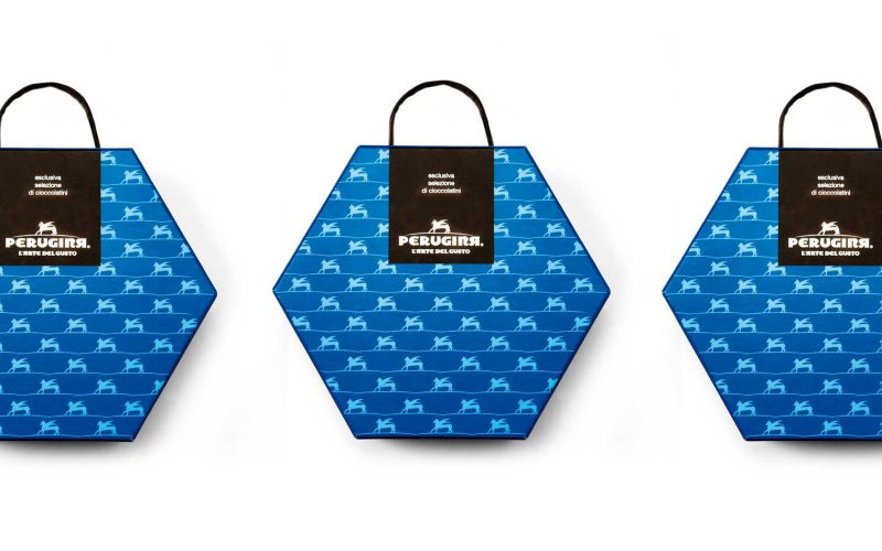 Perugina - New colors and shapes for Perugina gift boxes.