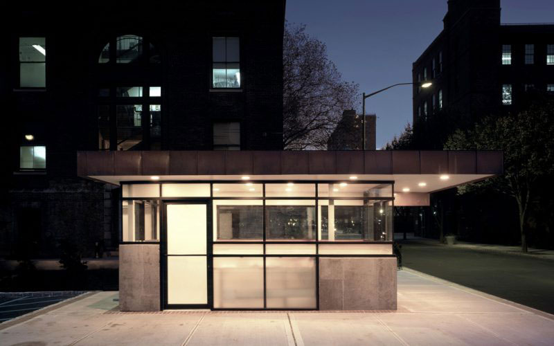 Pratt Institute - An architectural project for the Security kiosk.