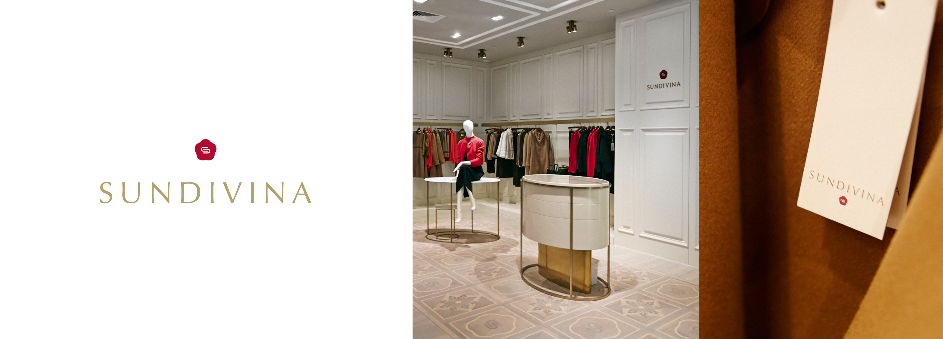An exclusive retail project designed created by Hangar Design Group for the fashion brand Sundivina.