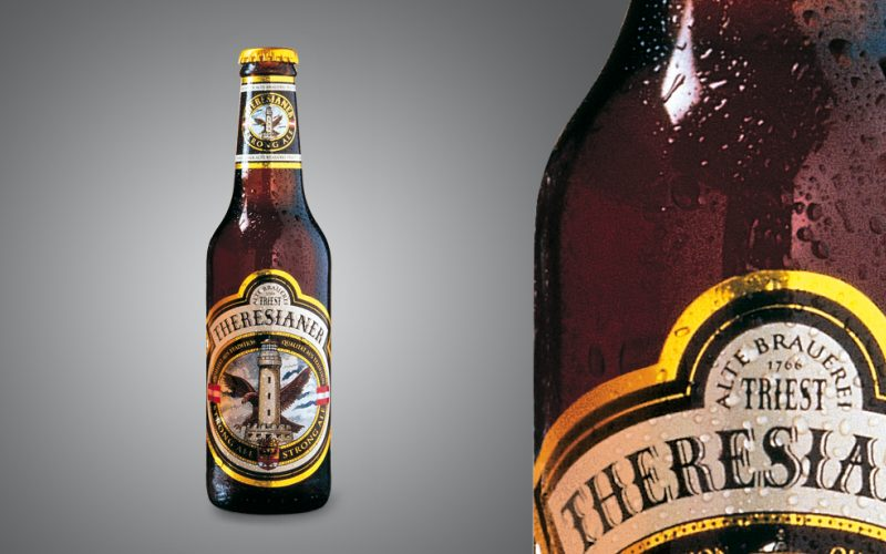 Theresianer - Packaging project for an Italian beer brand.