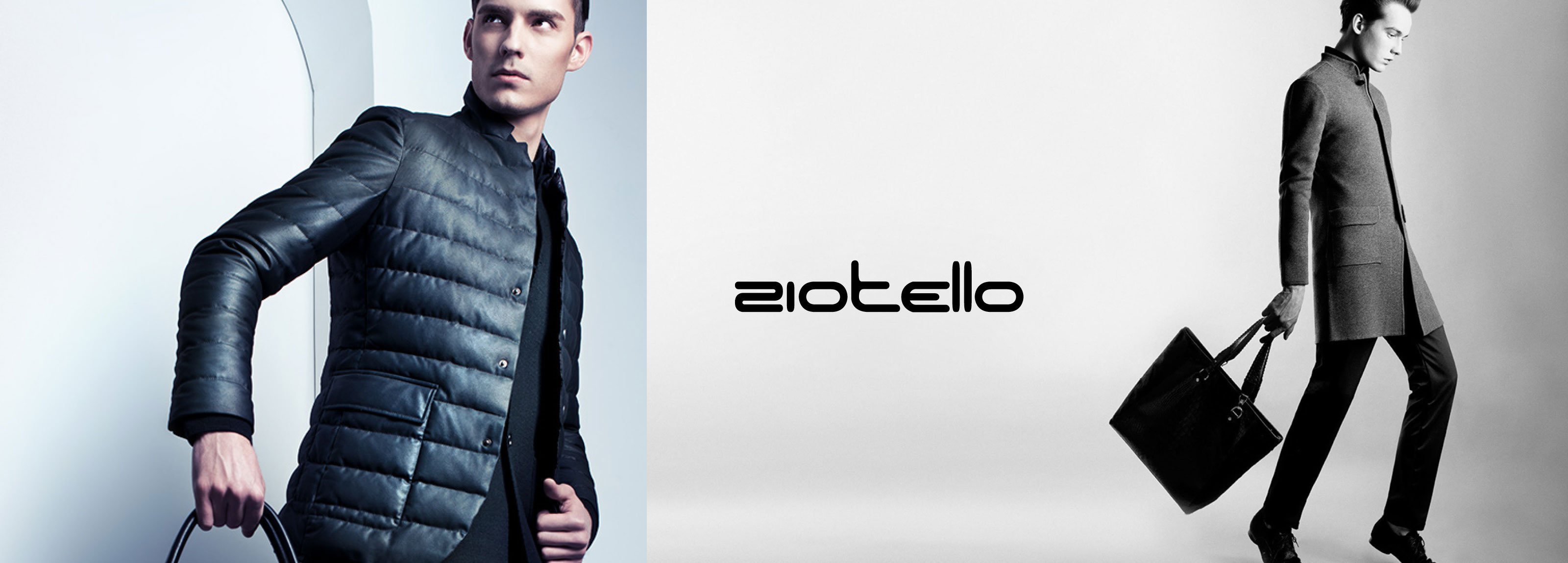 Hangar Design Group developed the communication strategy for the launch of Ziotello menswear collection