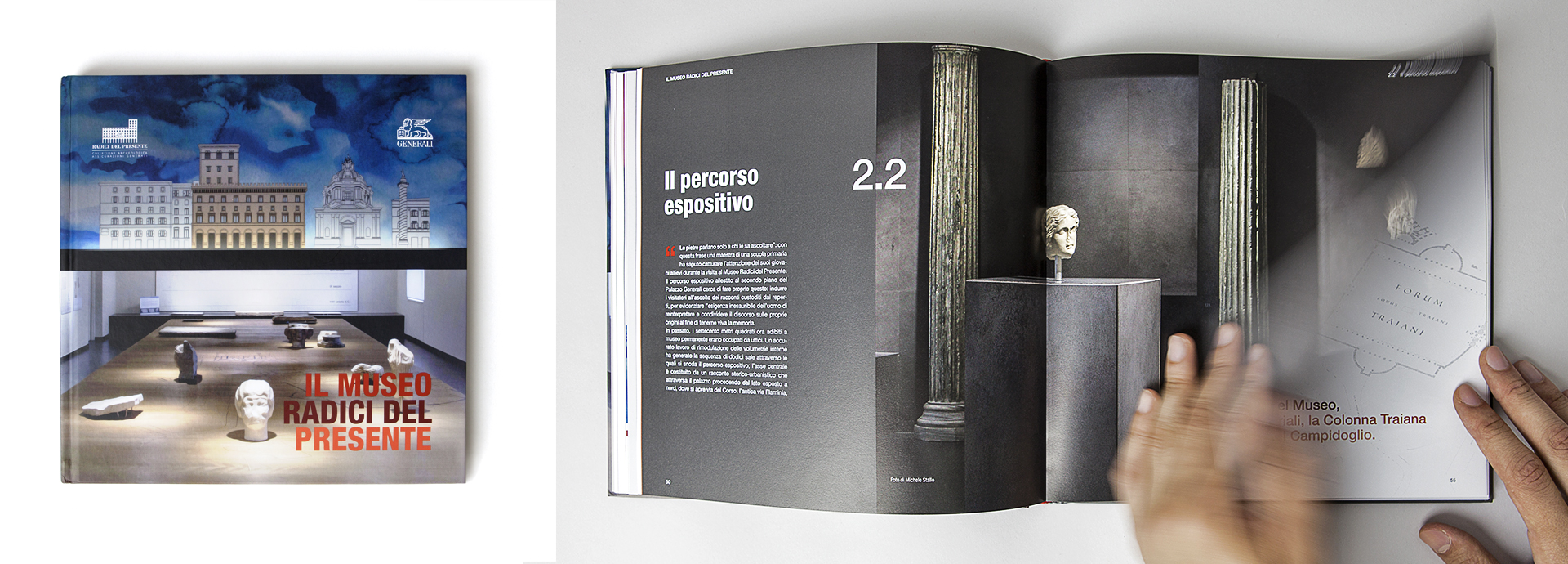 Generali - An editorial project for the archaeological Museum of Assicurazioni Generali