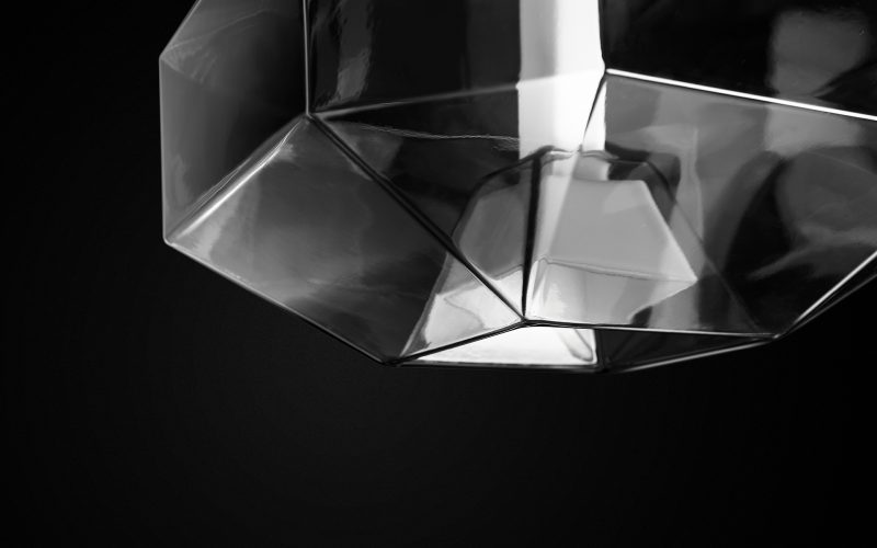 Vistosi - Strict geometries made of blown glass