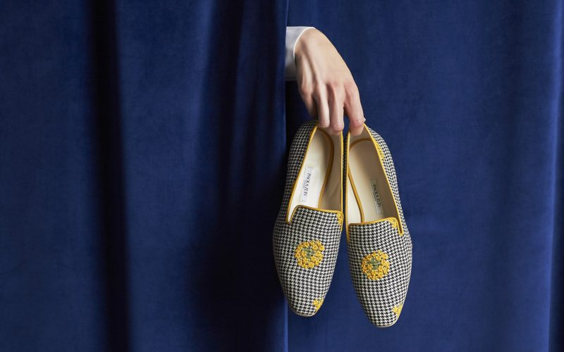 Paola Zuin - An identity for a new luxury footwear brand.