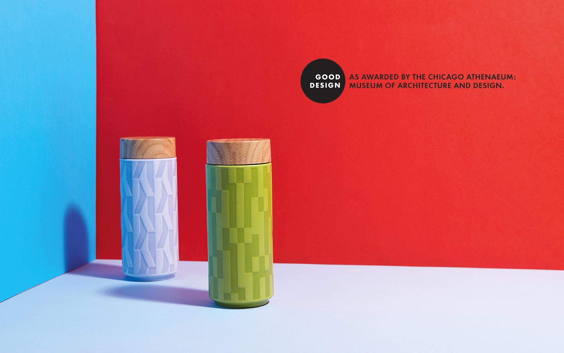 Hangar Design Group and Acera Liven travel mugs win the Chicago Good Design Award