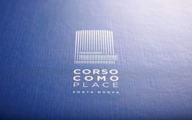 The logo of Corso Como Place designed by Hangar Design Group