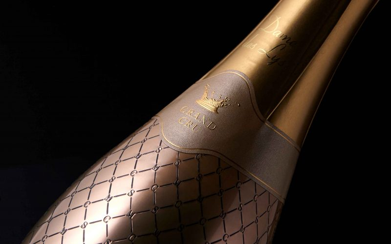 Dame des Lys - A luxury label for a refined champagne