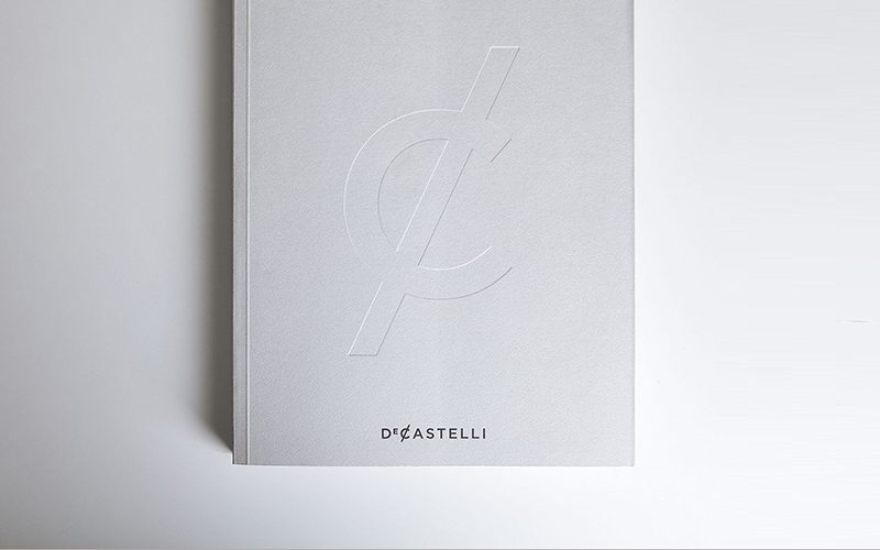 De Castelli - New catalogue and website to tell the beauty of metal