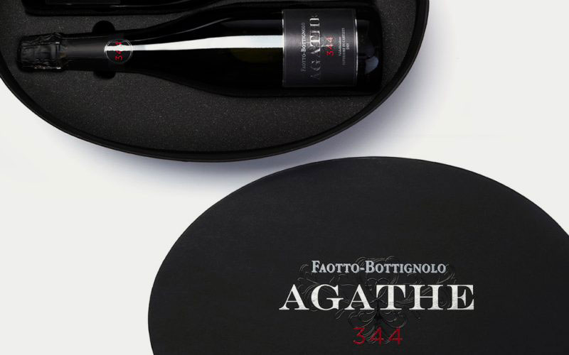 Faotto-Bottignolo - Packaging design for sparkling wine.