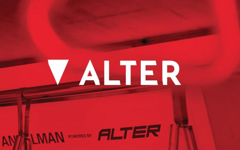 Alter - A rebranding project