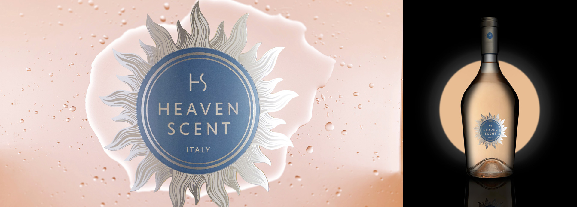 The new website of Heaven Scent by Hangar Design Group