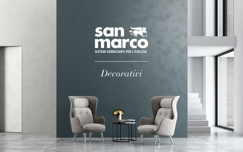 The catalogue of the Colorificio San Marco Decorativi collection explores the world of color thanks to Hangar Design Group