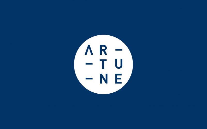 Artune's logo designed by Hangar Design Group