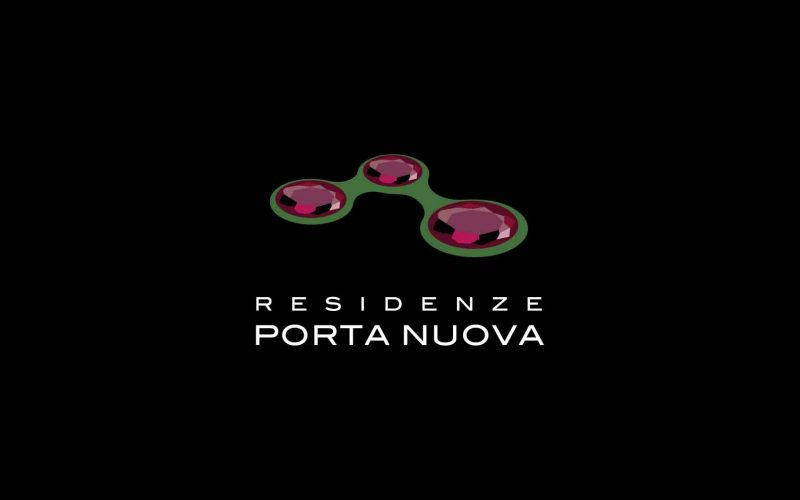 The logo of Residenze Porta Nuova