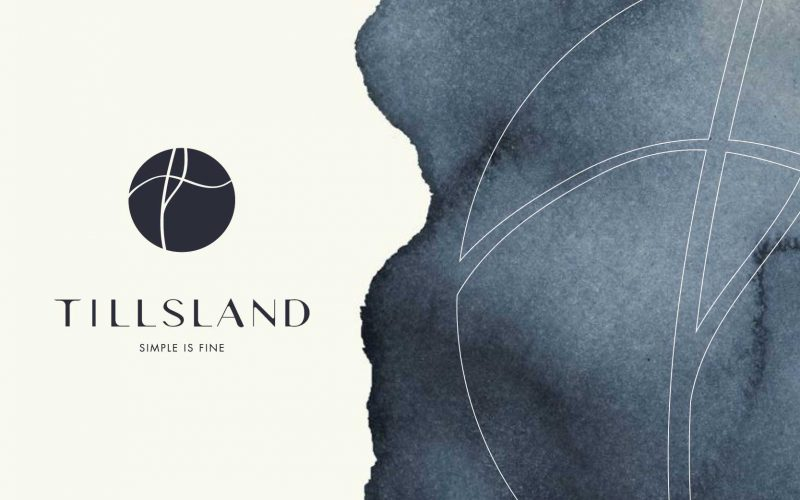 Tillsland - A branding project characterized by nude colors and a refined look&feel