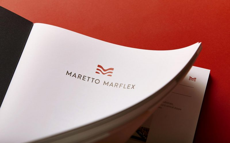 The new catalog designed by Hangar Design Group for Maretto Marflex